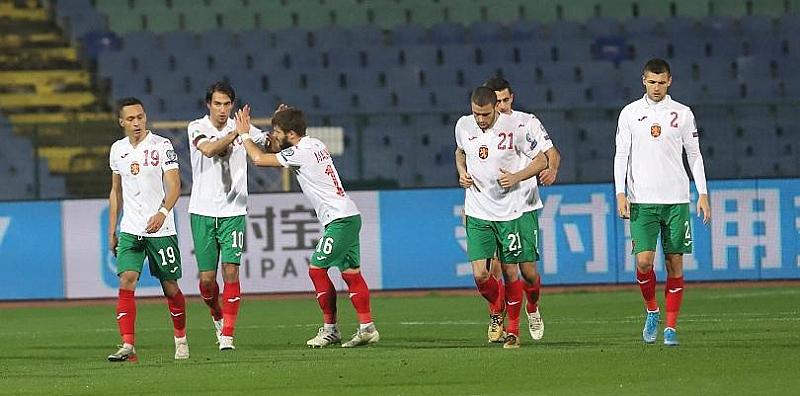 Българският национален отбор по футбол записа първи успех от повече