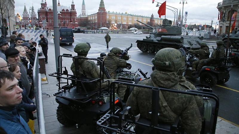 В Москва тренират за Парада на победата. За 9 май