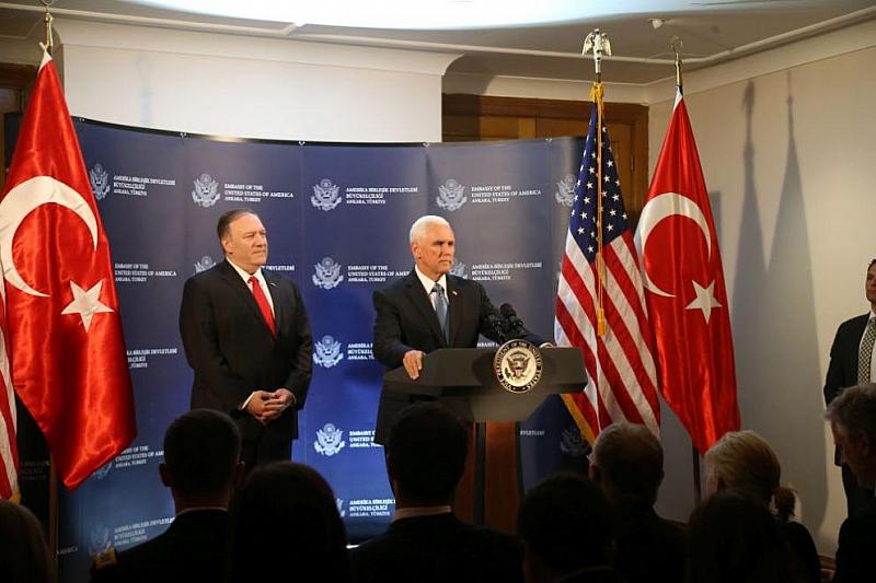 Вицепрезидентът на САЩ Майк Пенс заяви, че има споразумение с