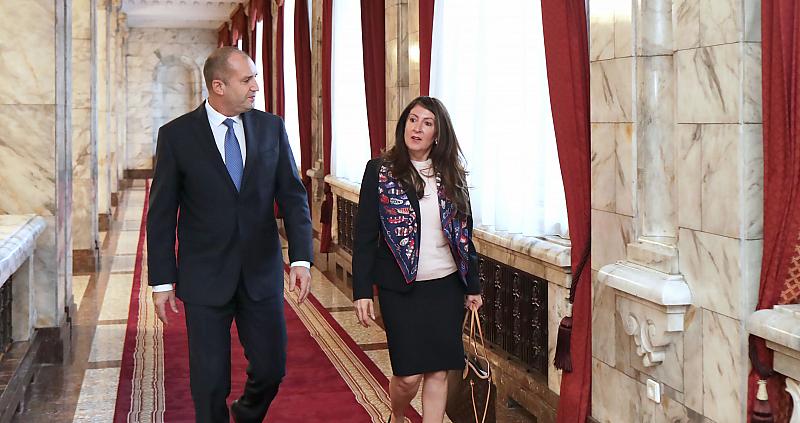 """Президентът Румен Радев проведе днес работна среща на """"Дондуков"""" 2"""