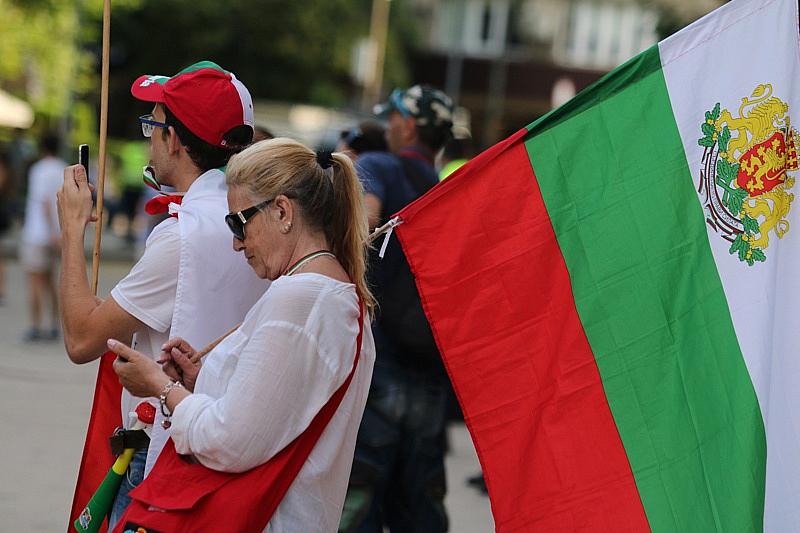 На снощния протест организаторите предупредиха, че на 17 октомври -