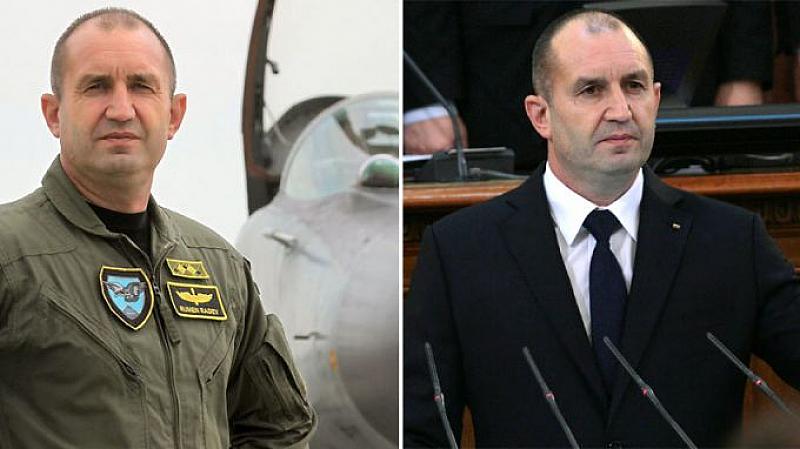 Подполковник Румен Радев се дипломира през юни 2003 година с