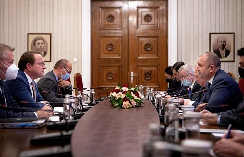 Това каза президентът Румен Радев по време на срещата с