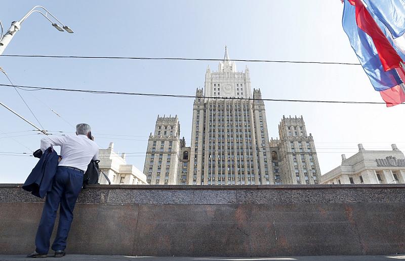 Сергей Николашин и Вадим БиковОбвиненията са изгонените руски дипломати. Обвиненията