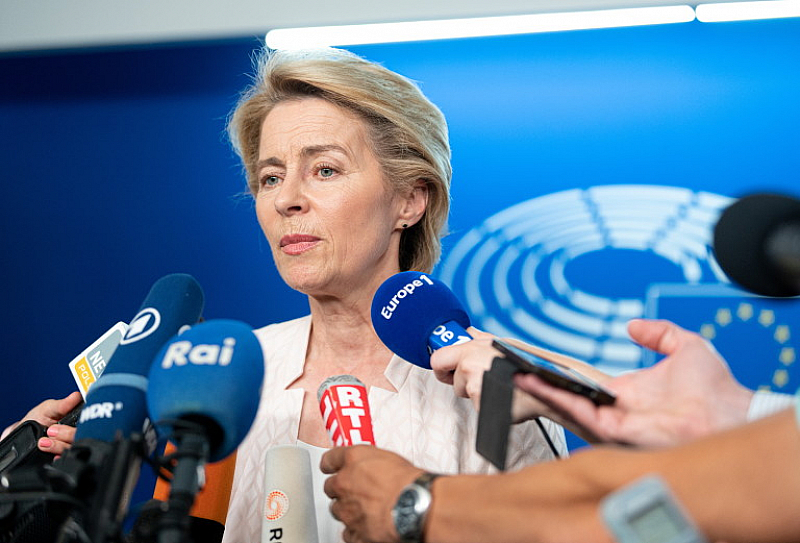"""Председателят на Европейската комисия заяви, че е """"дълбоко убедена"""", че"""