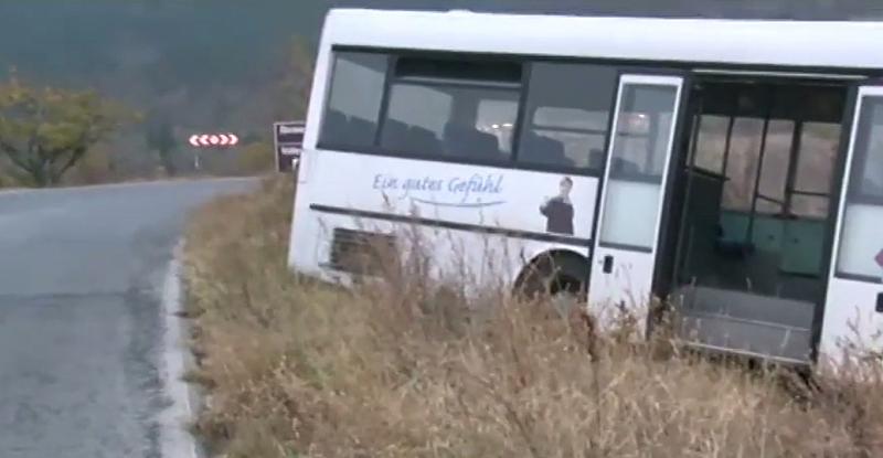 Инцидент с автобус, превозващ работници, рано тази сутрин край град
