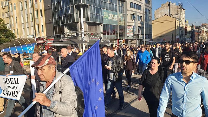 . От понеделник протестиращите граждани и бойци започваме персонални блокади