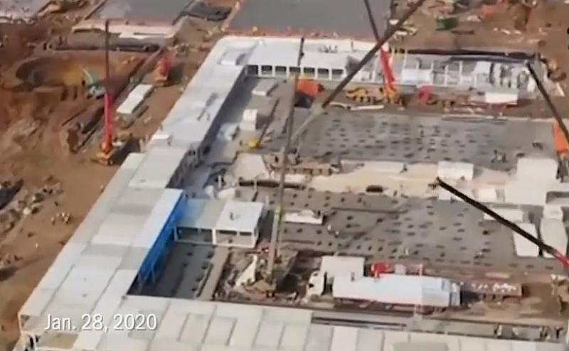 Китай е готов да открие болница Хуошеншан. Съоръжението с 1,000