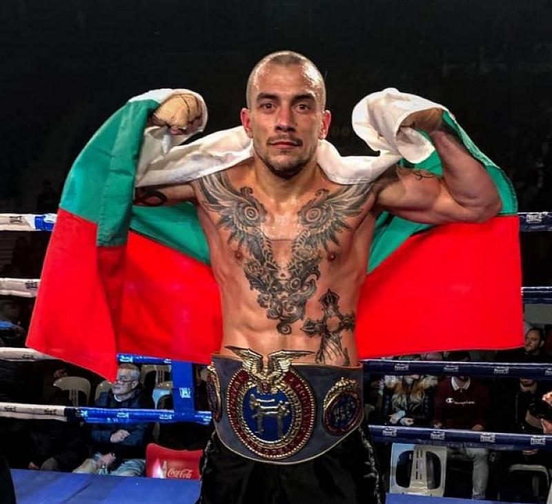 Снимка: Димитър Пенчев спечели европейска шампионска титла по кикбокс