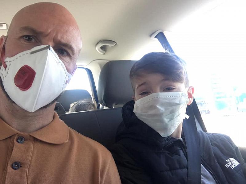 Бащата на 9-годишното момче от Англия, което бе обявено за