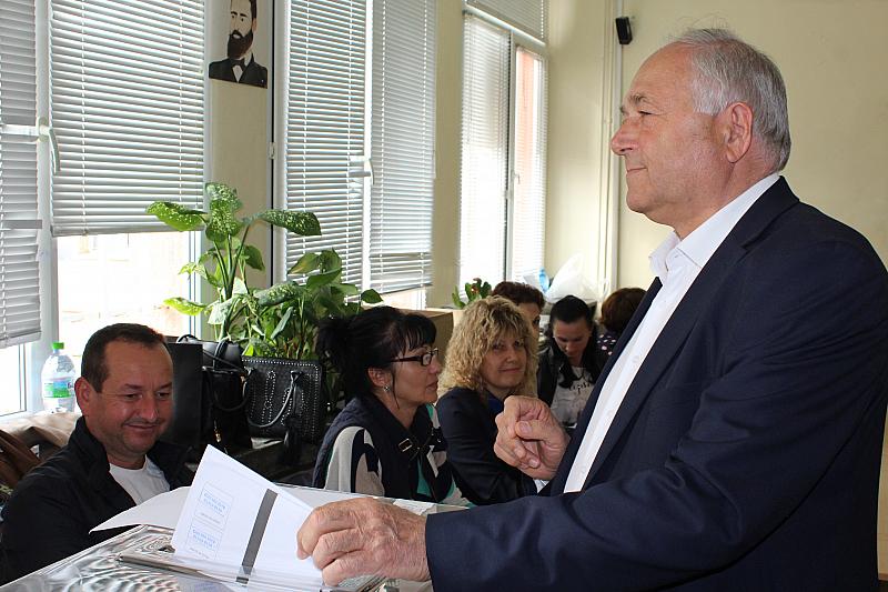 """""""Гласувах за промяна и за нова скорост в развитието на"""