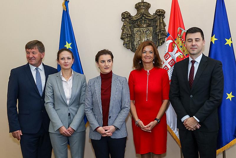 Евродепутатът Цветелина Пенкова, като част от Делегацията на Парламентарния комитет