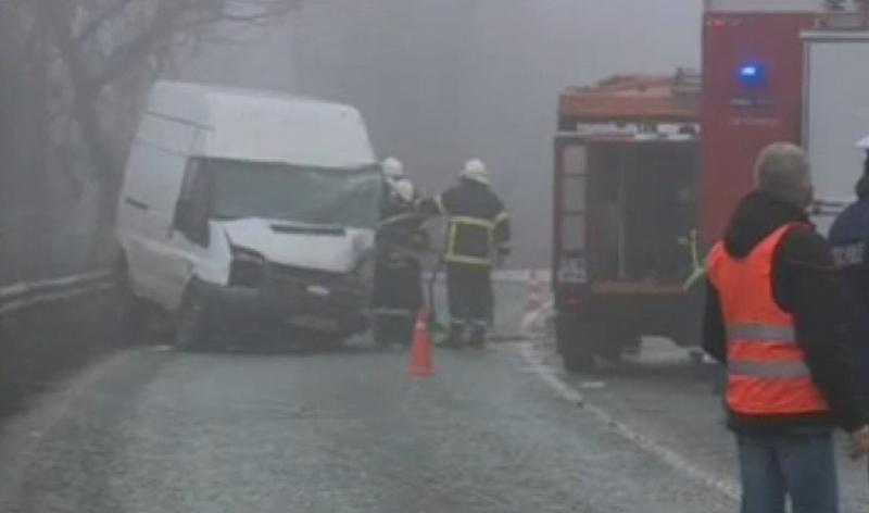 Четирима души пострадаха при поредната тежка катастрофа на пътя Русе-Бяла.