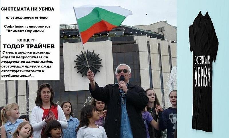 На 07.08.2020 г. от 19:00 ч. Тодор Трайчев ще подкрепи