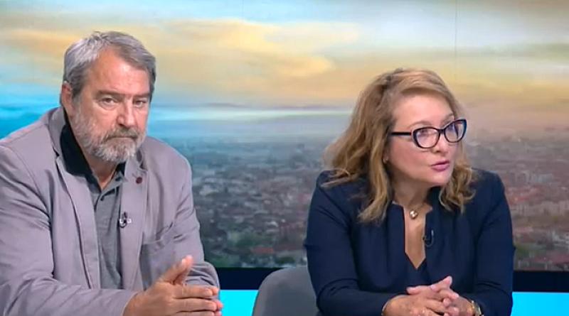 Сблъсък в ефир между Васил Гарнизов и Антоанета Христова по