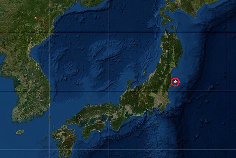 Силен трус разлюля Фукушима. 5.5 по Рихтер беше регистрирано в
