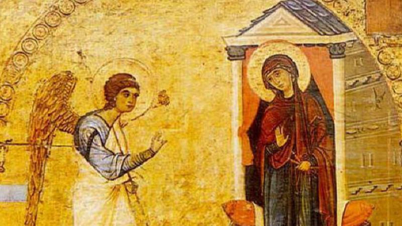 Отбелязваме Благовещение. На 25 март Православната църква чества денят, в