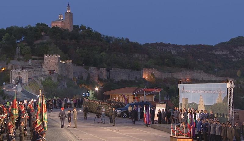 Тържествена заря по повод Деня на независимостта на България освети