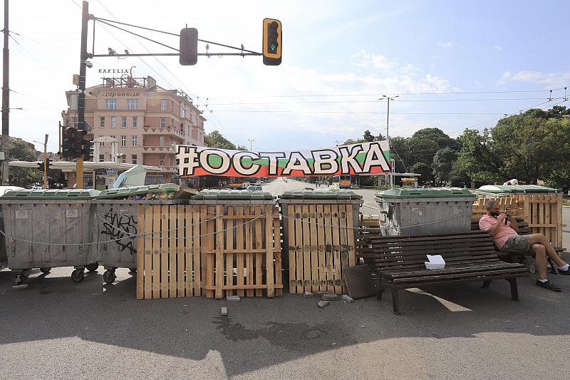 Орлов мост като Орлово гнездо - опълченците на българската демокрация.