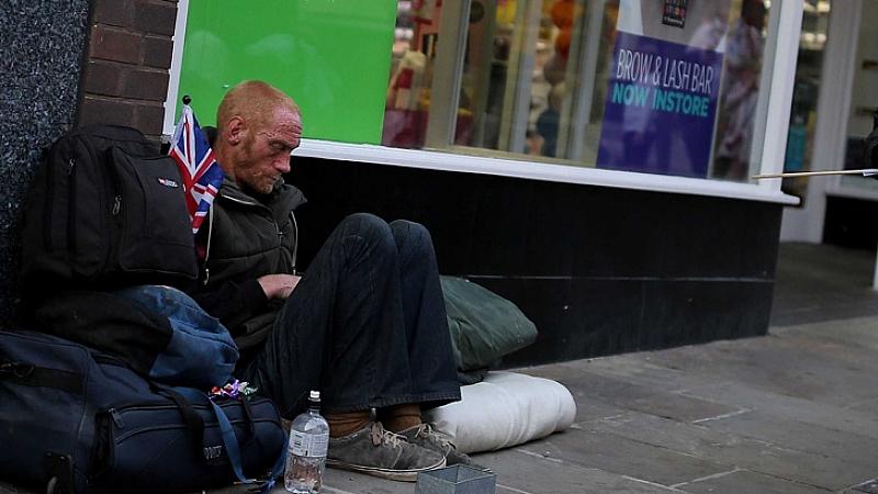 Бездомниците в цяла Европа са една от най-засегнатите от пандемията