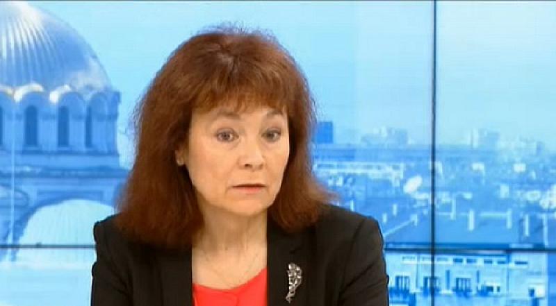 Това заяви в ефира на Българската национална телевизия Росица Матева,