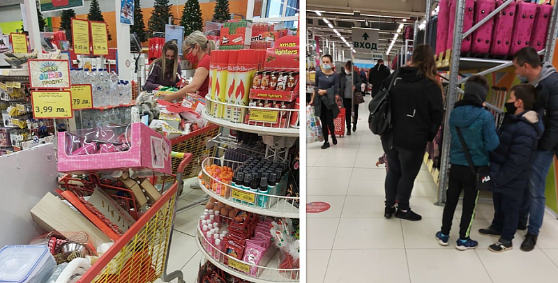 Народът се юрна да пазарува, преди правителството да реши ще