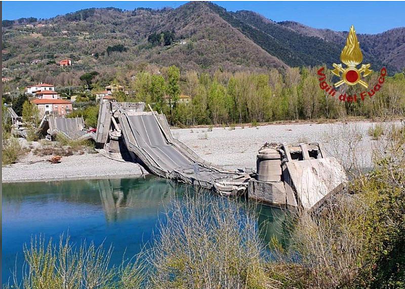 Срути се мост в Италия. Инцидентът е станал в северната