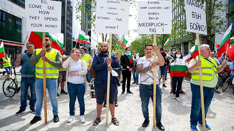Видео на сънародниците ни в Манхайм, Германия започна да циркулира