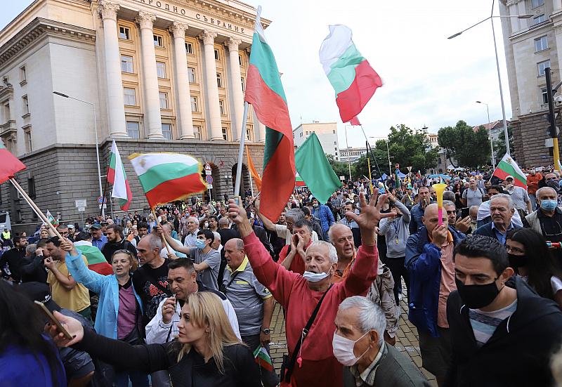 Започва 29 ден от антиправителствените протести в страната. Почти месец