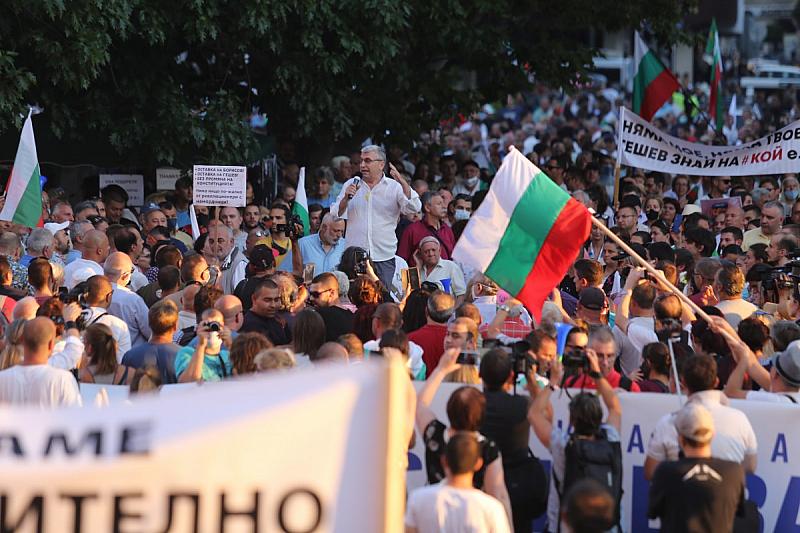 Продължава протестната блокада на три ключови кръстовища в столицата в