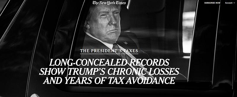 Скандално разследване удря по американския държавен глава Доналд Тръмп в