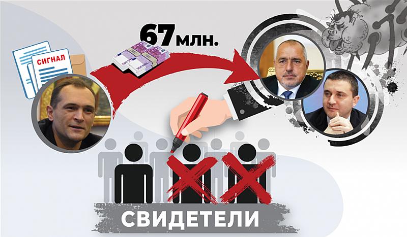 Страхът на управляващата #хунта расте. Б.М.Б. и В.И.Г. използват предания