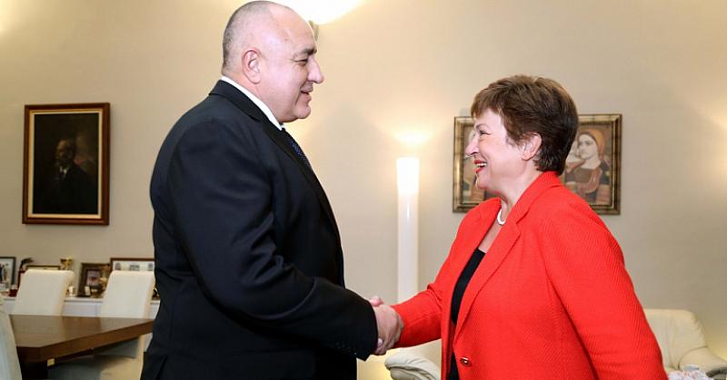 Премиерът Бойко Борисов се срещна с управляващия директор и председател