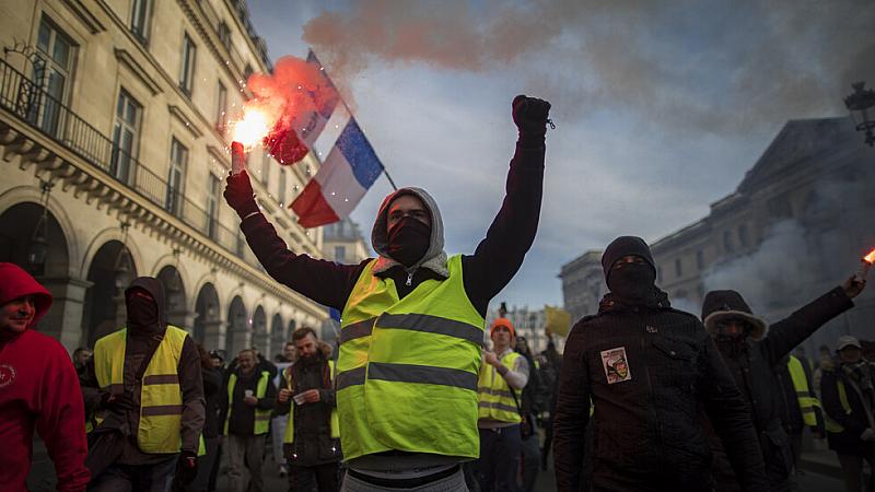 Над половин милион души участваха във вчерашната национална стачка във