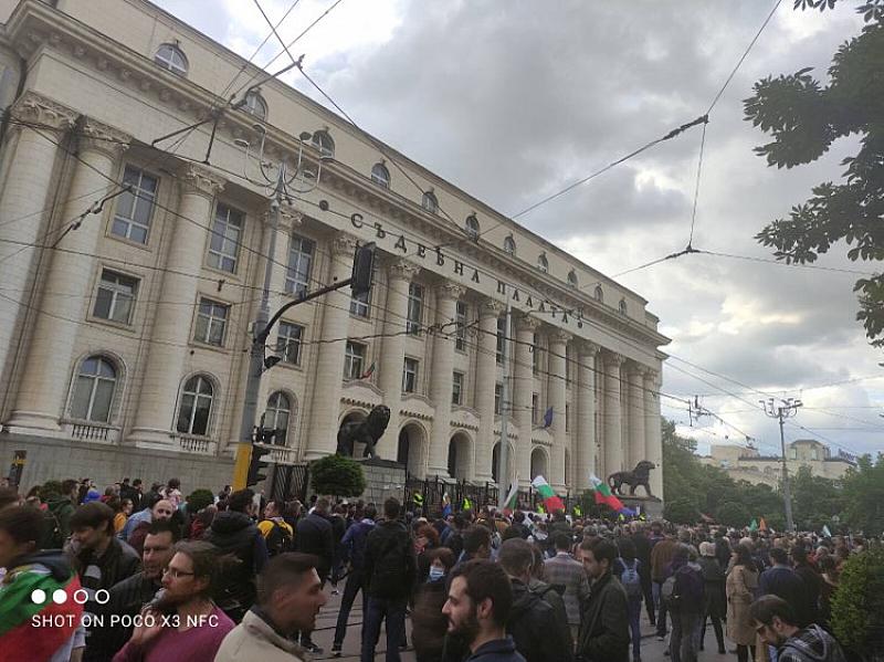 """Протестът е организиран от """"Правосъдие за всеки"""", но към него"""