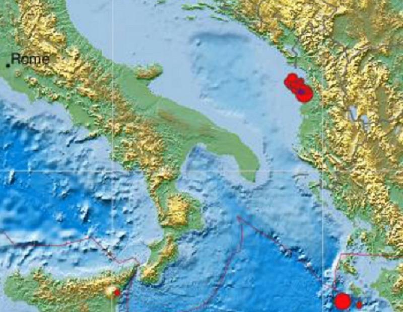Поредно земетресение разлюля околностите на албанската столица Тирана, като този