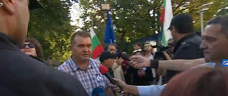 Лидерът на БОЕЦ Георги Георгиев и хората му са вече