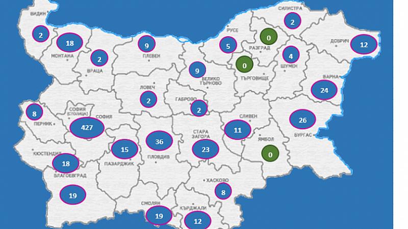 713 са потвърдените случаи на COVID-19 у нас по данни