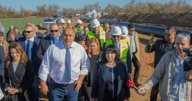 20 български работници, които са част от изграждането на газопровода