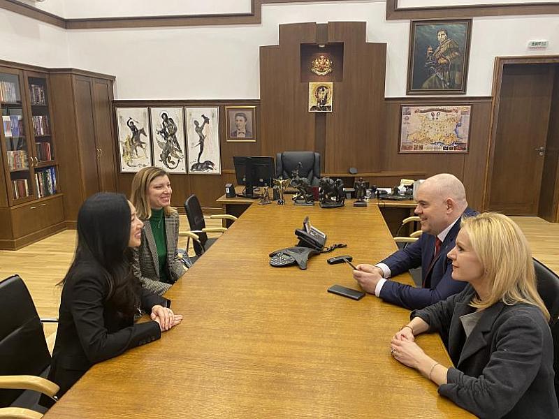 Главният прокурор Иван Гешев прие в Съдебната палата постоянния съветник
