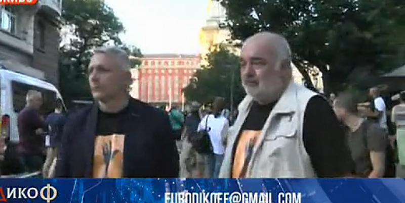 В момента, в който падне Борисов, ще преместим протеста в