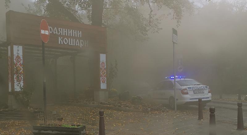 "В пламъци е култово заведение в стoличния квaртaл ""Лoзeнeц"". Огнени"