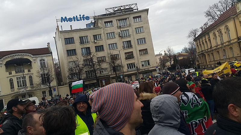 Политическа партия МИР се включи в протеста на хотелиери, ресторантьори