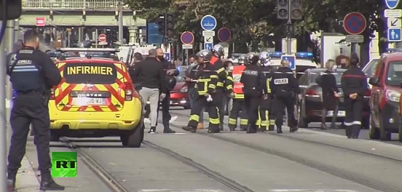 Нов варварски акт разтърси Франция преди минути. Атаката е в