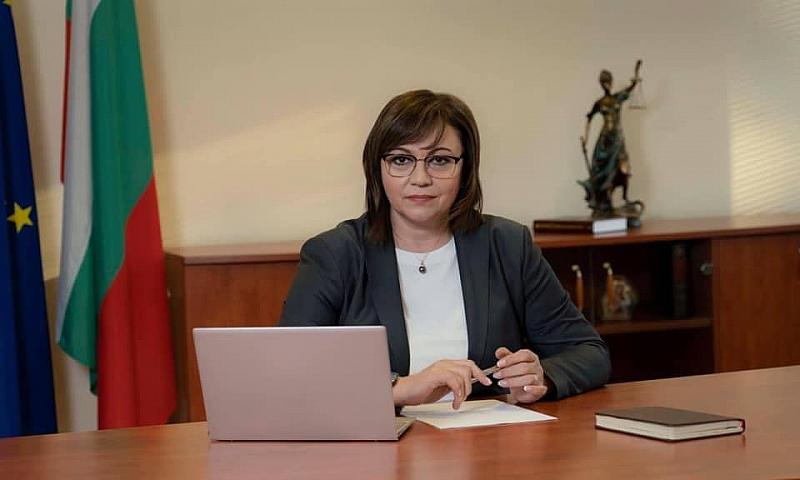 Вижте цялото интервю на лидера на БСП Корнелия Нинова в