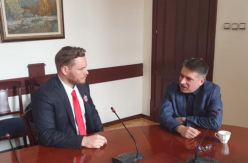 Министърът на правосъдието Данаил Кирилов прие днес австралийския гражданин Джок