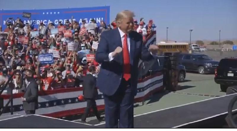 Американският президент Доналд Тръмп публикува видео в профила си във