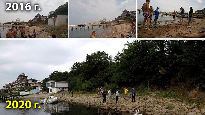 Ивайло Мирчев от Демократична България разкри, че пясъкът от плажа