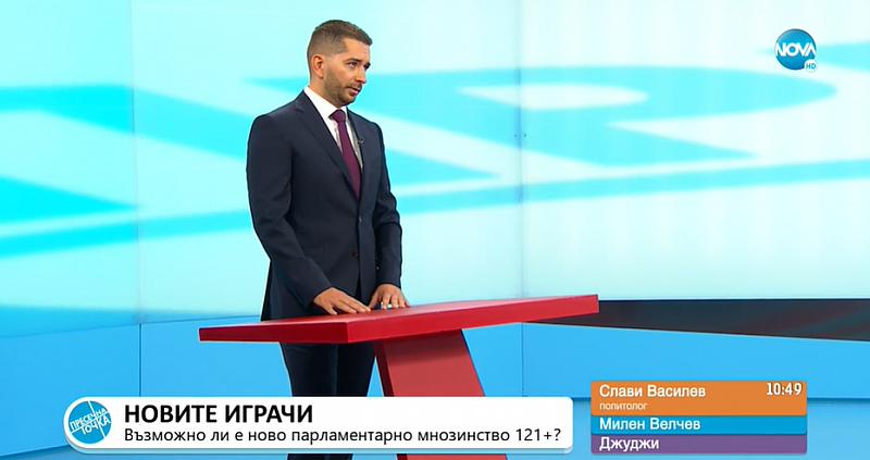 Това каза политологът Слави Василев пред Нова телевизия.Действията на Кирил