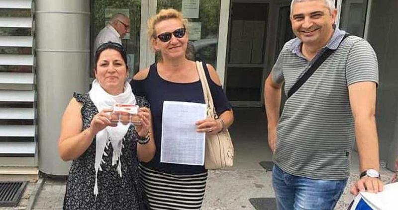 Полицията е разпитала варненката Милена Пехливанова за хвърлянето на яйца